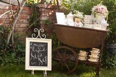 Tea cups from The Vintage Table Co