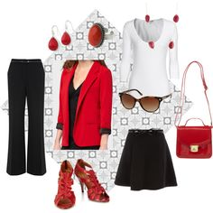I see RED, created by susan-nestor on Polyvore