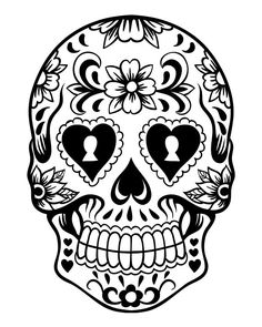 sugar skull hd new hard coloring pages printable and coloring book to print for free find more coloring pages online for kids and adults of sugar skull hd