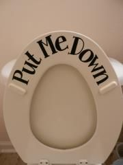 I will putting this on a toilet in my house in the future!