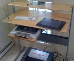 Best ikea gaming room office images home office desk bureau