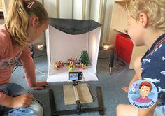 Klassenfoto maken van Playmobilpoppetjes met kleuters , kleuteridee.nl, thema fotograaf Stop Motion, Multimedia, Small World Play, Vlog, Vader Star Wars, 21st Century Skills, Kindergarten, Preschool, Workshop