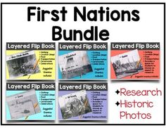 First Nations Research Writing Flip Books BUNDLE Writing Activities, Classroom Activities, Social Studies Lesson Plans, Research Writing, Ell Students, Flip Books, First Nations, Historical Photos, Esl