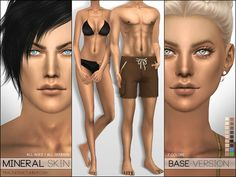 Skintone overlay which adapts to all basic EA colors, comes in 4 different versions.  Found in TSR Category 'Sims 4 Skintones'