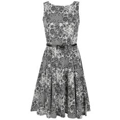Rachel Dress - Mittellanges Kleid von Rockabella