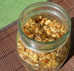 Mostly Food and Crafts: Savory Granola