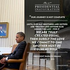 President Obama calls for the freedom to marry in second inaugural address | Freedom to Marry
