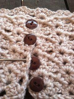 FREE pattern by Cate Crochets: Button Boot Cuffs Crochet Pattern