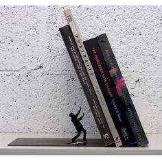 "ARTORI Design ""Falling Books"" Metal Bookend Decorative"