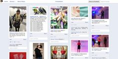 How To View Facebook Photos, Pinterest Style - - - -