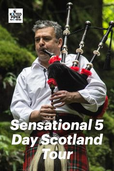 Sensational 5 Day Scotland Tour – a journey of discovery, of our history, scenery and culture. Enjoy a 5 day private tour of Scotland with your friendly Kilted Piper, Graeme. Our 5 day Scotland itinerary will take you on a journey to fascinating castles, historic houses, local ancient inns and wonderful whisky distilleries.