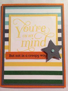Created by Amy Pieters, Independent Stampin Up! Demonstrator using That Thing You Did Stamp Set.