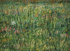 """""""Parche de hierba"""" (1887) – Vincent van Gogh"""