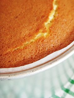 Hot Milk Sponge Cake – Inspired to Bake Hot Milk Sponge Cake Recipe, Hot Milk Cake, Vanilla Sponge Cake, Sponge Cake Recipes, Pound Cake Recipes, Easy Cake Recipes, Baking Recipes, Dessert Recipes, Sponge Recipe