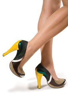 Mallard Duck shoes. Meet the work of outrageous footwear designer Kobi Levi.
