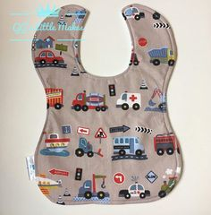 Transport bib Cars bib Fire Engine bib Aeroplane bib Baby