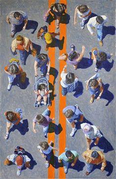 Crosswalkers 272 by Jim Zwadlo