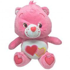 CARE BEARS Plüsch Figur LIEBMICHBÄRCHI rosa | 27 cm #CareBears #Glücksbärchis