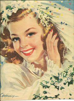 Connolly bride by in pastel, via Flickr