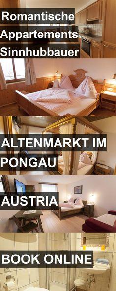 Hotel Romantische Appartements Sinnhubbauer in Altenmarkt im Pongau, Austria. For more information, photos, reviews and best prices please follow the link. #Austria #AltenmarktimPongau #RomantischeAppartementsSinnhubbauer #hotel #travel #vacation
