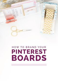 """""""After I shared last month's post on how to utilize Pinterest to grow your blog audience, I received several questions on how to organize boards and develop a consistent style within a Pinterest account""""-says @laurenehooker Read the article on her blog."""