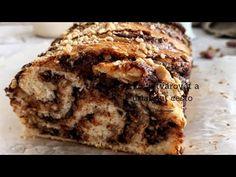Čokoládová babka z kvásku - Nelkafood s láskou ku kvásku Challa Bread, Sweet Desserts, Banana Bread, Food, Youtube, Basket, Breads, Essen, Meals