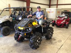 Thanks to Darren Spears from Lucedale MS for getting a 2015 CanAm Outlander Xmr 800 at Hattiesburg Cycles