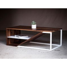 From Prodeez Product Design: Cortado Coffee Table by Harkavy Furniture. #furniture #table #steel #wood #creative #design #ideas #designer #harkavyfurniture #interior #interiordesign #product #productdesign #instadesign #furnituredesign #prodeez #industrialdesign #architecture #style #art