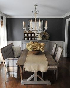 Kendall Charcoal In Our Dining Roomdear Lillie  Our Home Simple Kendall Dining Room Decorating Inspiration