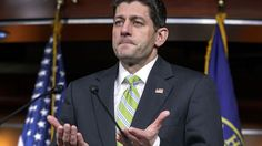 House Speaker Paul Ryan, R-Wis., announces that he is abruptly pulling the troubled Republican health care overhaul bill off the House floor, short of votes and eager to avoid a humiliating defeat for President Donald Trump and GOP leaders, at the Capitol in Washington, Friday, March 24, 2017.