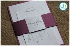 Sangria Wedding Invitation - ALH Designs