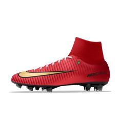 official photos 5e474 cebd2 Nike Mercurial Victory VI Dynamic Fit FG iD Men s Firm-Ground Football Boot  Football Boots