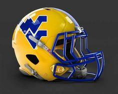 . Mountaineers Football, Wvu Football, Nfl Football Players, Custom Football, Oregon Football, Titans Gear, Nfl Titans, Titans Football, Football Helmet Design