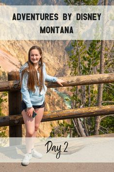 Adventures By Disney Montana Day 2 Disney Destinations, Disney Hotels, Disney Vacations, Disney Travel, Disney Rides, Disney World Trip, Travel With Kids, Family Travel, Disney Tickets