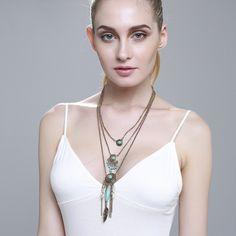 #Hot #fashion #bohemian #necklace $20