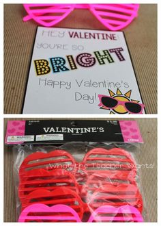 What The Teacher Wants!: 13 Non Food Valentine Ideas {with Printables}
