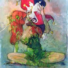 Poison Ivy & Harley Quinn. Omg I love love love!!!