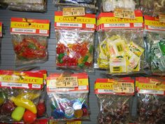 Mexican Candy | Mexican candy selections.