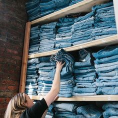 """10.1k Likes, 49 Comments - Madewell (@madewell) on Instagram: """"in praise of / incredible jeans and incredible women—@whereiwasfrom has both. we visited claire and…"""""""