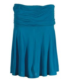 Take a look at this Nile Blue Travel Samba Skirt by Ojai Clothing on #zulily today!