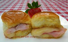 Hot Ham and Cheese Sandwiches – Slathered, Buttered and Smothered!   Sweet Tea With Cindy