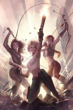 Danger Girl Trinity by Alex Garner