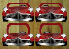 Red GREASE inspired EXtra Large Car Photo Booth by LMPhotoProps, $5.00 #lmphotoprops