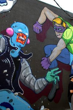 Colorado Crush 2014, piece by Mad Man Art and Look At Art.