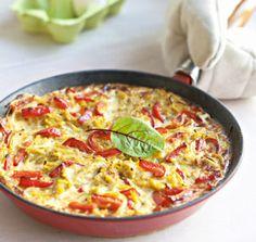 Spaghetti frittata- myllyn paras