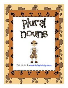 Plural Nouns contains 6 pages of plural  resources and activities.  You will find the following if you purchase this item:-Plural Rules sheet-Plural sort with recording sheet-Plural worksheet-Student sample of plural sort-Plural Foldable ideaImages from scrapindoodles.com & fonts from kevinandamanda.Plural Nouns 2nd Grade by TDH is licensed under a Creative Commons Attribution-NonCommercial-NoDerivs 3.0 Unported License.