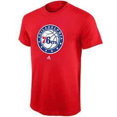 Get this Philadelphia 76ers Red Preferred Logo T-Shirt at  PhillyTeamStore.com Philadelphia a7ca30585