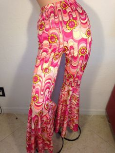 FREE  SHIPPING  1960 Psychedelic Mod Pants by VintageRevengCouture