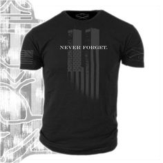 Grunt Style The 9-11 Tribute Shirt - VETERAN OWNED - Patriotic StreetWear #GruntStyle #GraphicTee Portions go to the Children of Fallen Soldiers Relief Fund! Help spread the #tribute