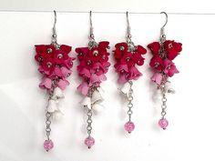 """haladky"" earrings (inspired by Dominika Haladová)"